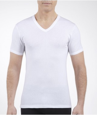Tee shirt thermojet manches courtes blanc