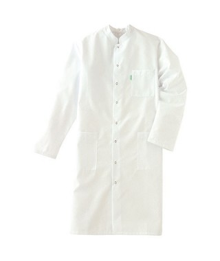 Blouse blanche manches longues homme